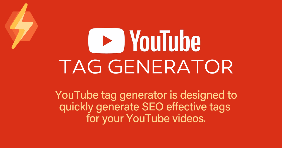 Youtube Tag Generator Search by Muzli